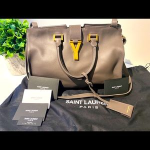 Authentic YSL Cabas Chyc Small
